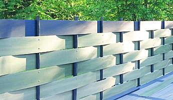 dwn doors & windows new generation - sistemi di recinzione - Recinzioni Da Giardino In Pvc