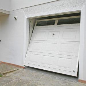 porta basculante per garage  Bello  Porta basculante per garage in acciaio Modello Iron Coibentazione
