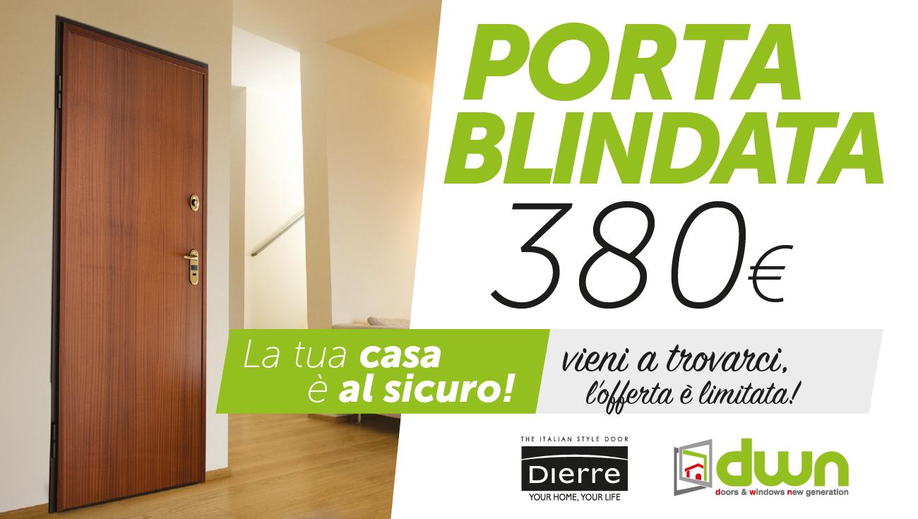 PORTE BLINDATE OFFERTE LIMITATE - Porte blindate a 380 euro